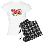 Angola Flag Women's Light Pajamas