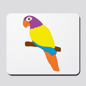 Parrot Bird Design Mousepad