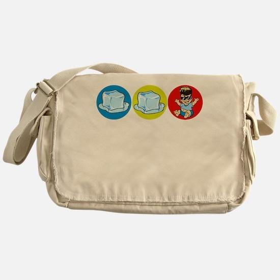 Ice Ice baby Messenger Bag