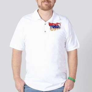 Armenia Flag Golf Shirt