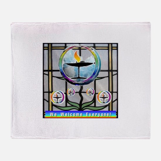 Unitarian 5 Throw Blanket
