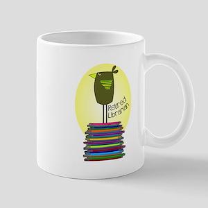 retired librarian BOOK BIRD 2 Mug