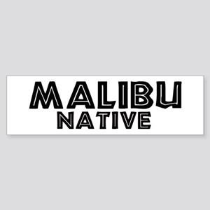 Malibu Native Bumper Sticker