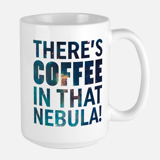 Janeway Coffee In That Nebula Mugs