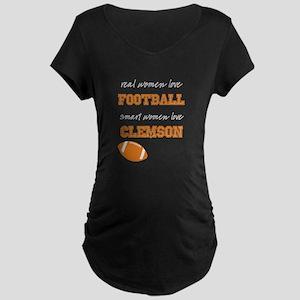 Tiger Football Maternity T-Shirt