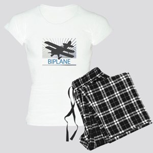 Aircraft Biplane Women's Light Pajamas