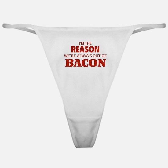 Bacon Classic Thong
