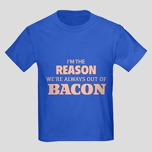 Bacon Kids Dark T-Shirt