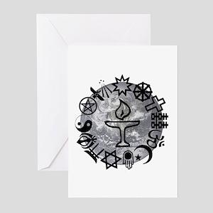 Unitarian 6 Greeting Cards (Pk of 20)