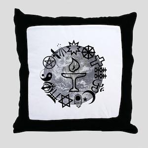 Unitarian 6 Throw Pillow
