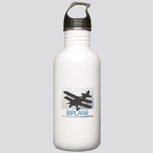 Aircraft Biplane Stainless Water Bottle 1.0L