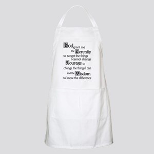 Serenity Prayer Light Apron