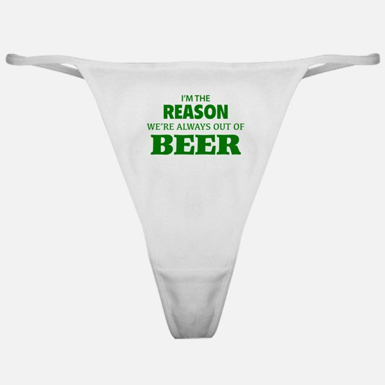 Beer Classic Thong