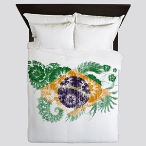 Brazil Flag Queen Duvet