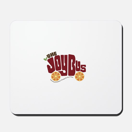 The Joy Bus Mousepad