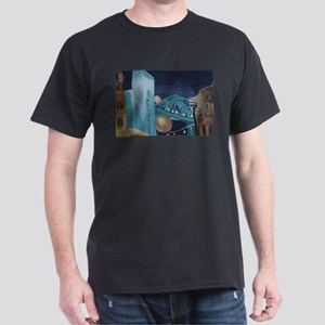 Tyne Bridge at Night Dark T-Shirt