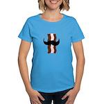 Moustache Bacon Women's Dark T-Shirt