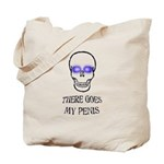 There Goes My Penis Tote Bag