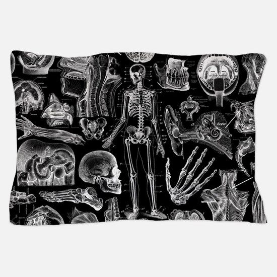 Human Anatomy Pillow Case