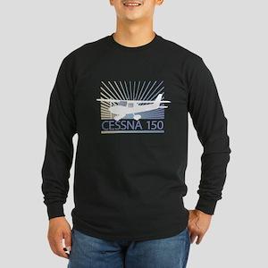 Aircraft Cessna 150 Long Sleeve Dark T-Shirt