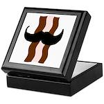 Moustache Bacon Keepsake Box