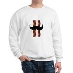 Moustache Bacon Sweatshirt