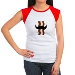 Moustache Bacon Women's Cap Sleeve T-Shirt