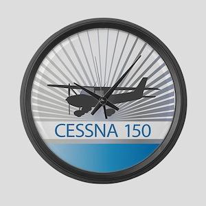 Aircraft Cessna 150 Large Wall Clock