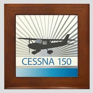 Aircraft Cessna 150 Framed Tile