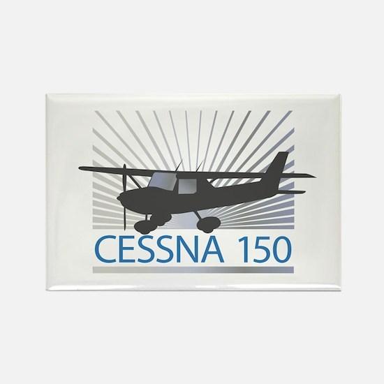 Aircraft Cessna 150 Rectangle Magnet