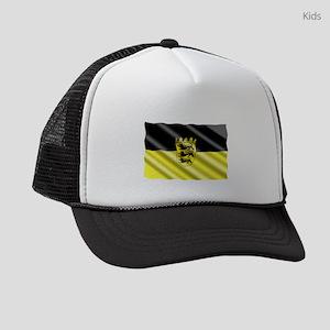 Baden-Wuertemburg Flag Kids Trucker hat