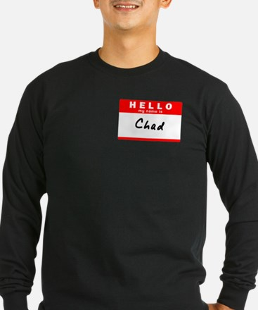 Chad, Name Tag Sticker T