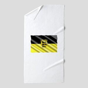 Baden-Wuertemburg Flag Beach Towel