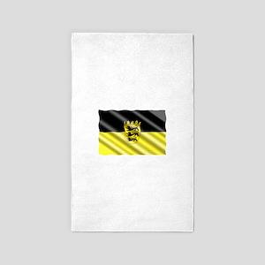 Baden-Wuertemburg Flag Area Rug