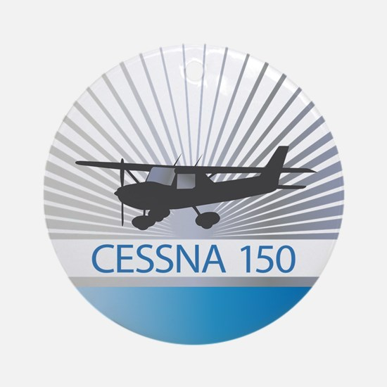 Aircraft Cessna 150 Ornament (Round)