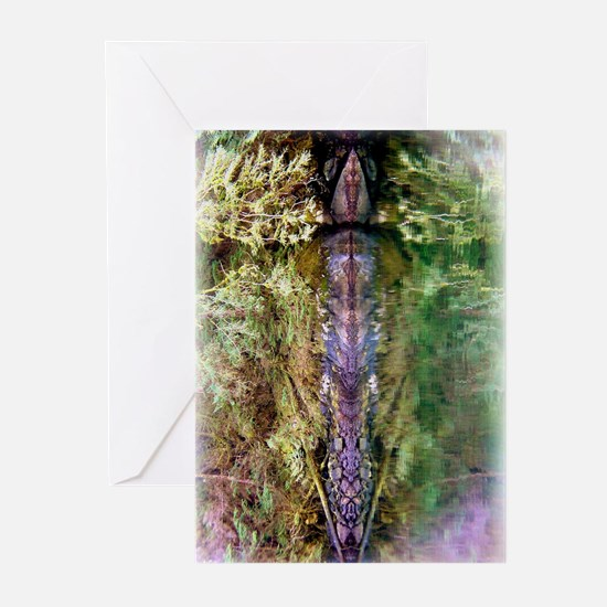 Shapeshifter Stone Totem Greeting Cards (Package o