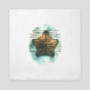 Starfish Wisdom Queen Duvet