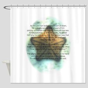 Starfish Wisdom Shower Curtain