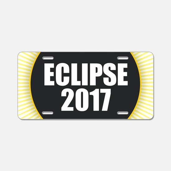 Eclipse 2017 Aluminum License Plate