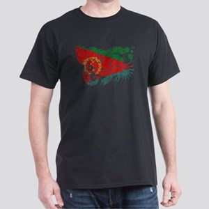 Eritrea Flag Dark T-Shirt