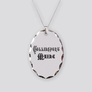COLLINSPORT MAINE Necklace Oval Charm