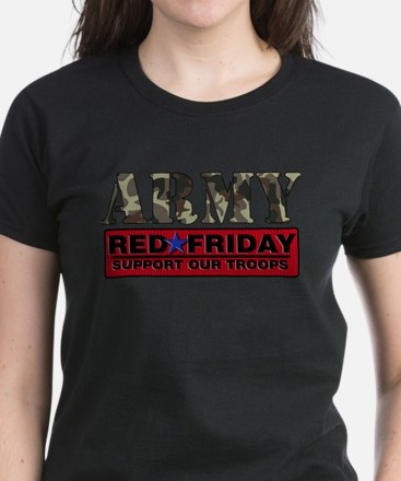 Red Friday_Logo_Army T-Shirt
