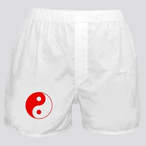 Red Yin Yang Boxer Shorts