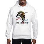 Resurrect To Protect Soldier Hooded Sweatshirt