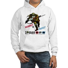 Resurrect To Protect Soldier Hoodie