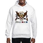 Resurrect To Protect Vulture Hooded Sweatshirt