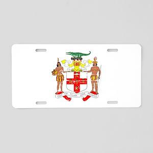 Jamaica designs Aluminum License Plate