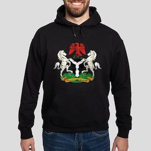 Nigeria designs Hoodie (dark)