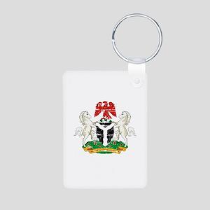 Nigeria designs Aluminum Photo Keychain