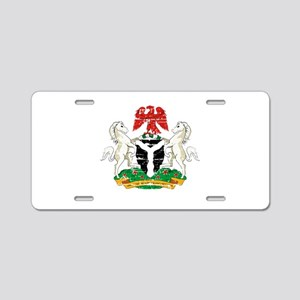 Nigeria designs Aluminum License Plate